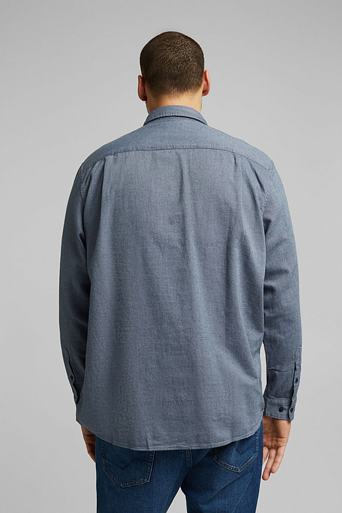 Shirt made of 100% organic cotton, NAVY, detail image number 3