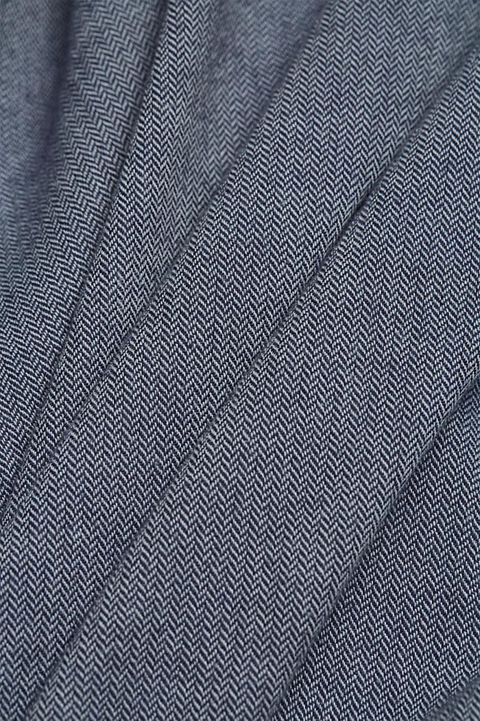 Hemd aus 100% Organic Cotton, NAVY, detail image number 4