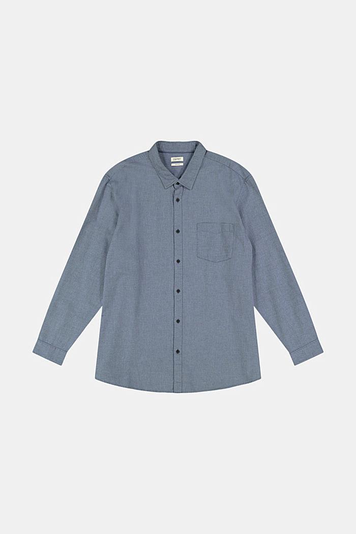 Hemd aus 100% Organic Cotton, NAVY, detail image number 7