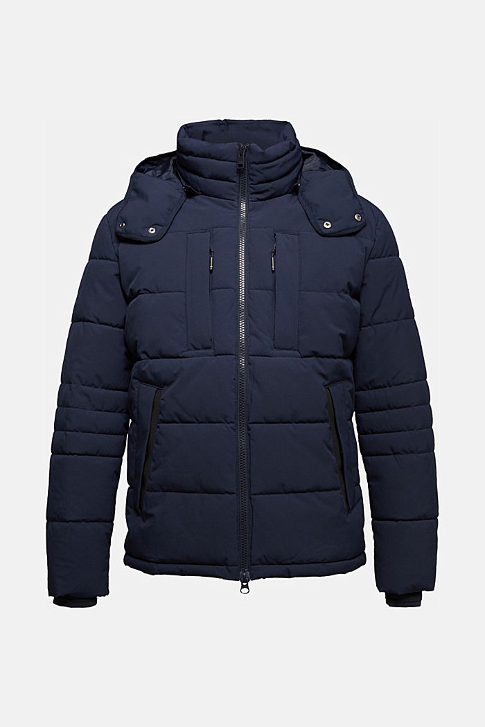 Quilted jacket with 3M™ Thinsulate™ padding, DARK BLUE, detail image number 6