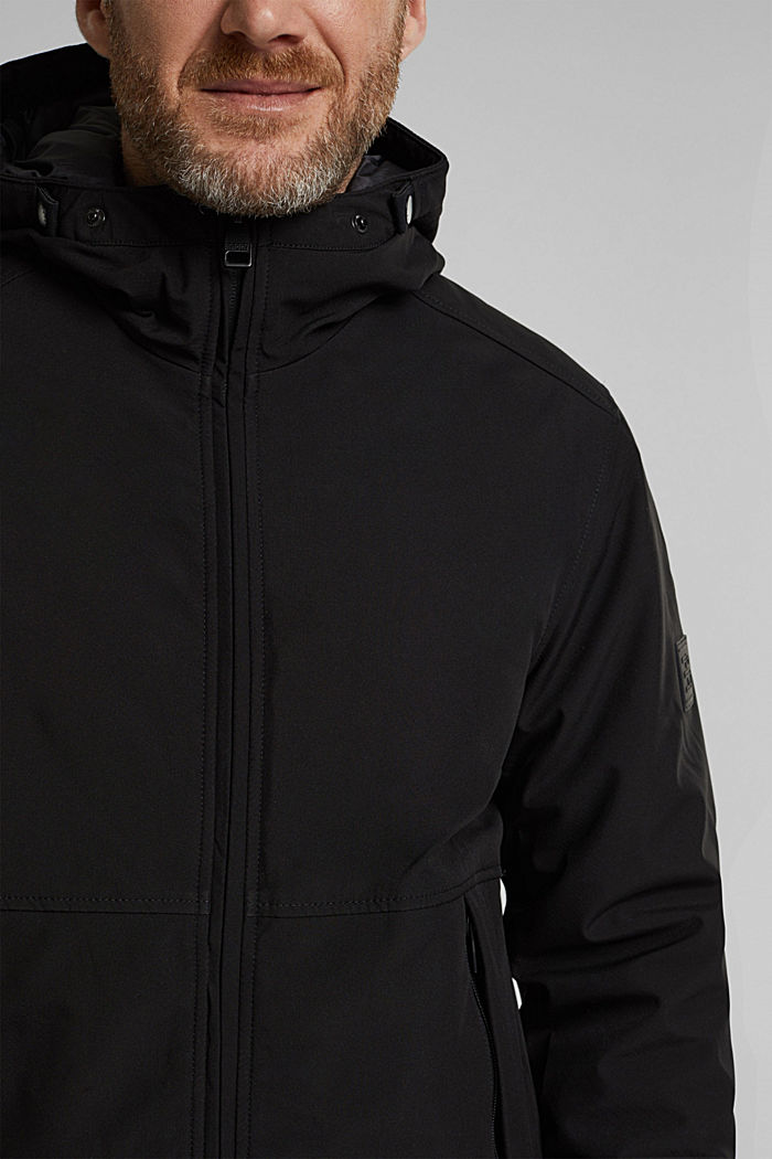 Parka with 3M™ Thinsulate™ filling, BLACK, detail image number 2