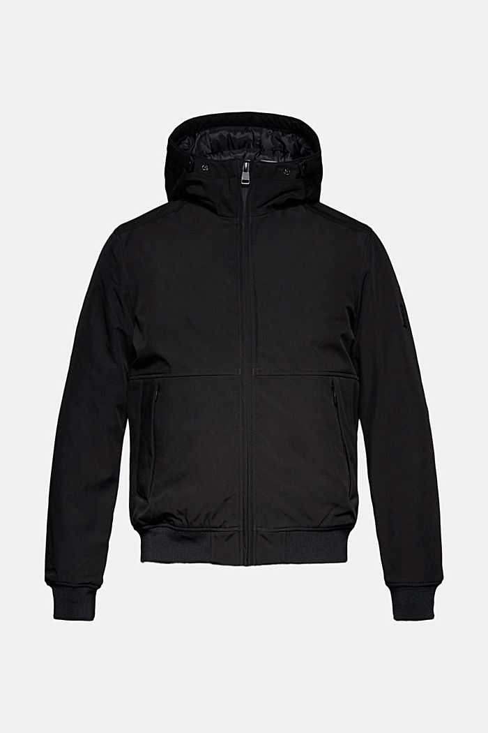 Parka with 3M™ Thinsulate™ filling, BLACK, overview