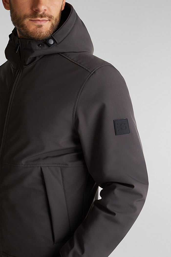 Parka with 3M™ Thinsulate™ filling, GREY, detail image number 2