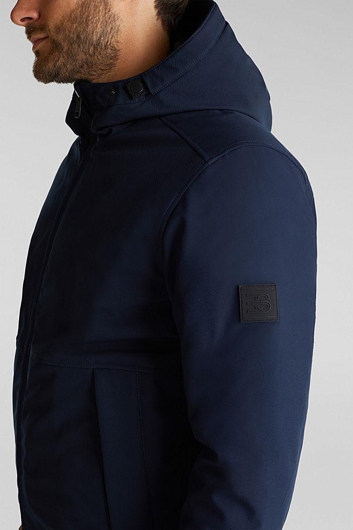 Parka met 3M™ Thinsulate™-vulling, DARK BLUE, detail image number 2