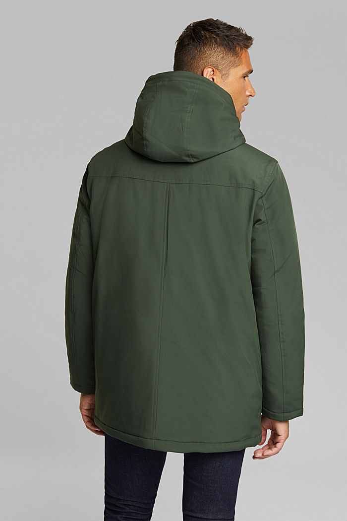 Recycled: jacket with 3M™ Thinsulate™, BOTTLE GREEN, detail image number 3