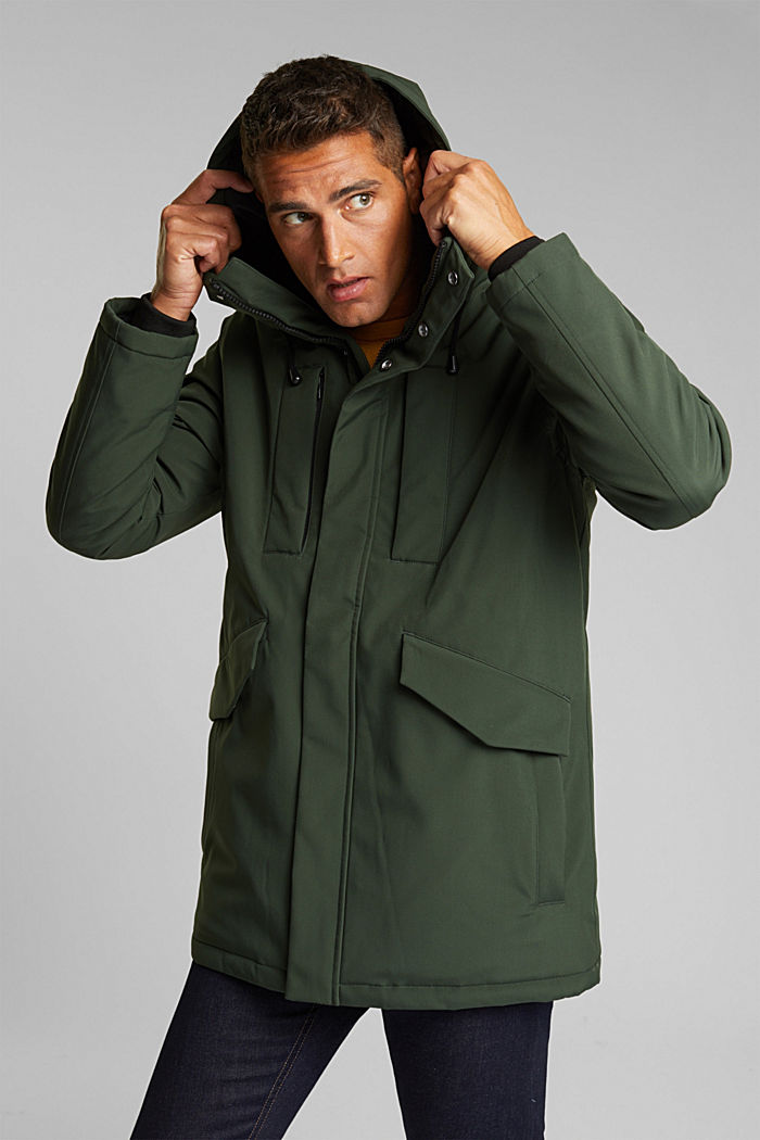 Recycled: jacket with 3M™ Thinsulate™, BOTTLE GREEN, detail image number 4