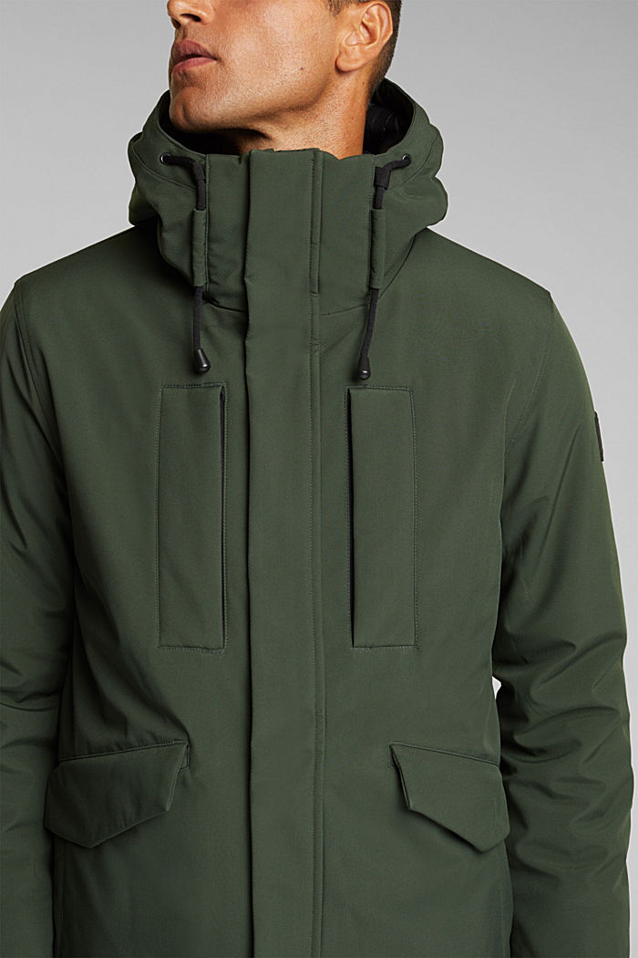Recycled: jacket with 3M™ Thinsulate™, BOTTLE GREEN, detail image number 2