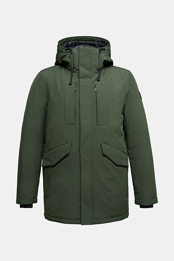 Recycled: jacket with 3M™ Thinsulate™, BOTTLE GREEN, detail image number 6