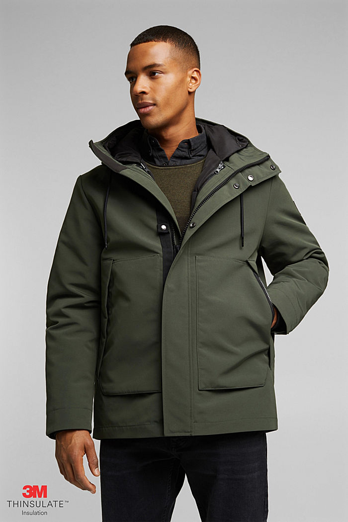2-in1 Parka mit  3M™Thinsulate™-Füllung, BOTTLE GREEN, detail image number 0