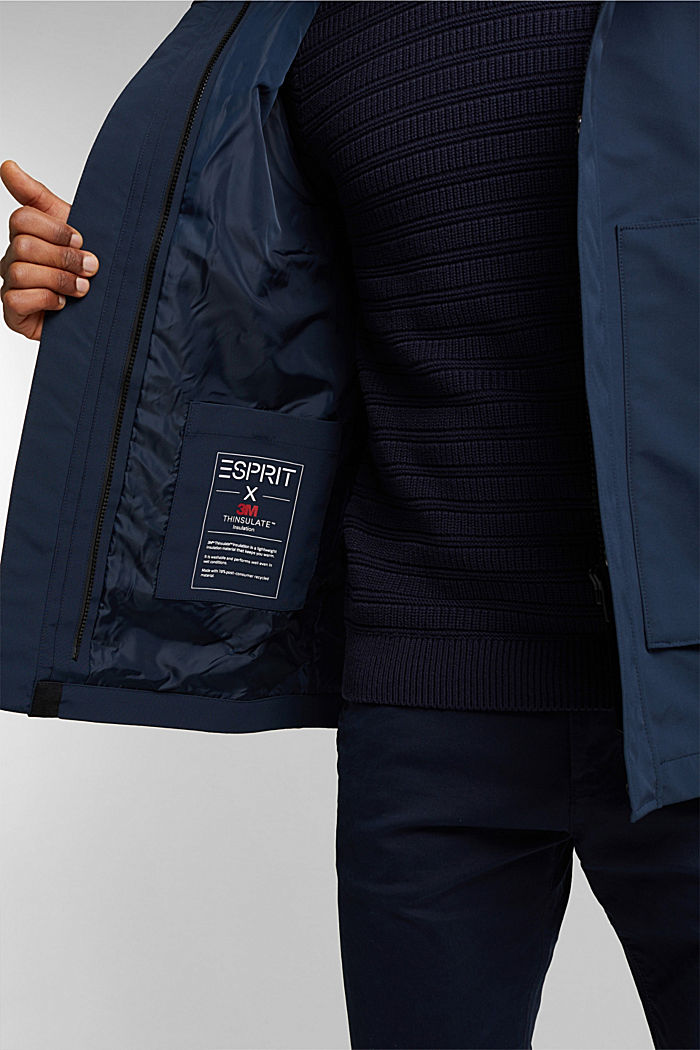 2-in-1 parka with 3M™Thinsulate™ filling, DARK BLUE, detail image number 6