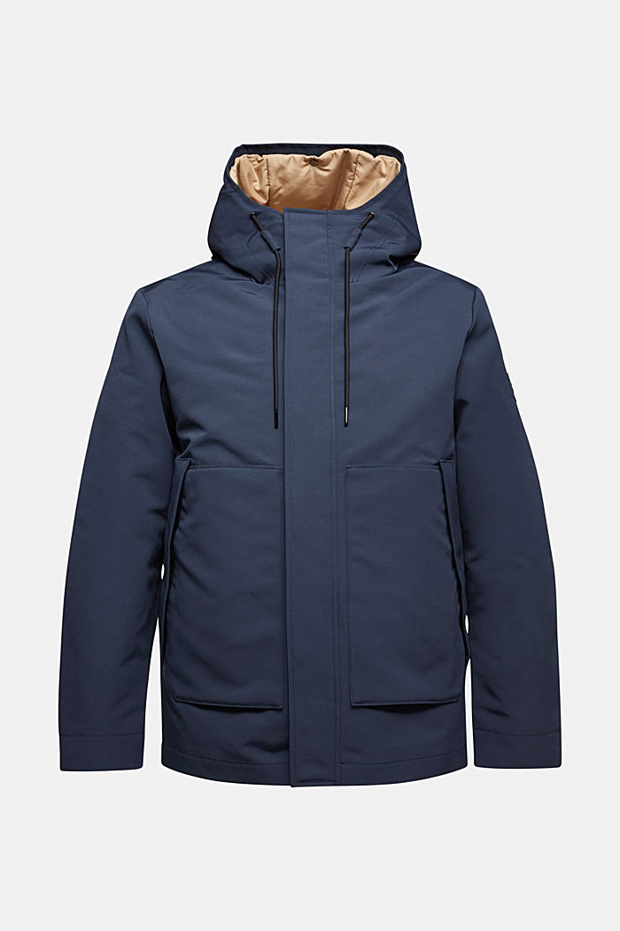 2-in-1 parka with 3M™Thinsulate™ filling, DARK BLUE, overview