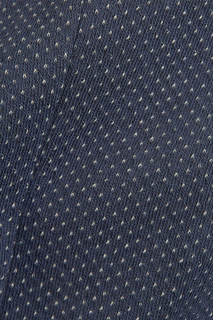 Patterned knit sports jacket, GREY BLUE, detail image number 4