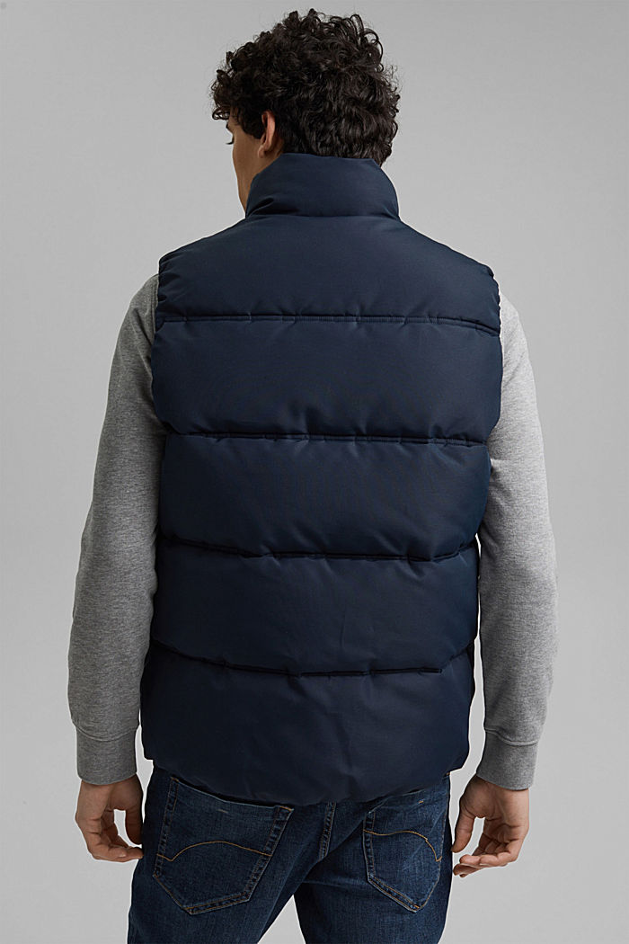 Recycled: quilted body warmer 3M™Thinsulate™, DARK BLUE, detail image number 3