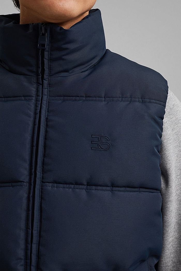 Recycled: quilted body warmer 3M™Thinsulate™, DARK BLUE, detail image number 2