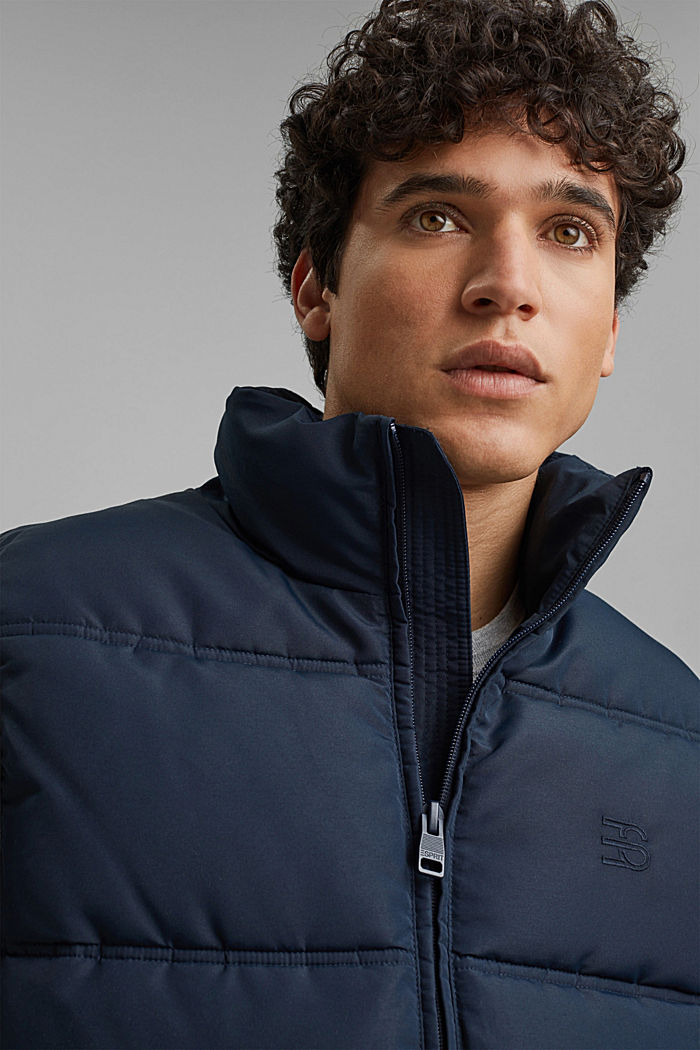 Recycled: quilted body warmer 3M™Thinsulate™, DARK BLUE, detail image number 5