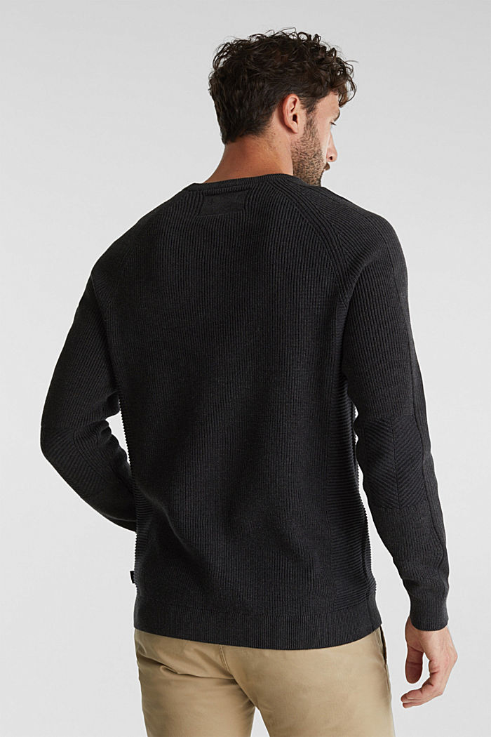 Jumper made of 100% organic cotton, ANTHRACITE, detail image number 3