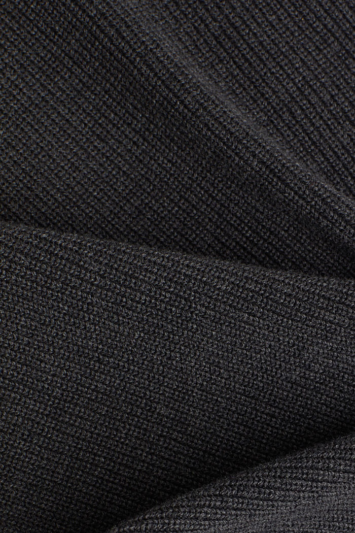 Jumper made of 100% organic cotton, ANTHRACITE, detail image number 4