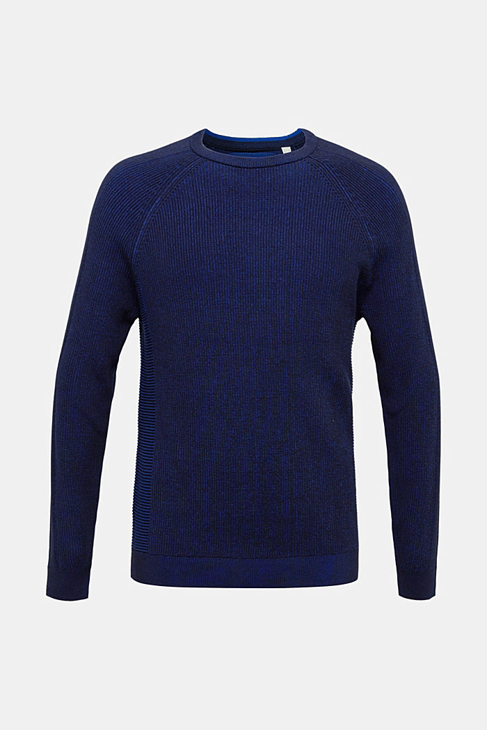 Jumper made of 100% organic cotton, NAVY, detail image number 7