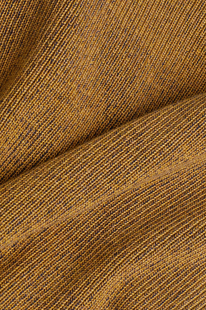Jumper made of 100% organic cotton, AMBER YELLOW, detail image number 4