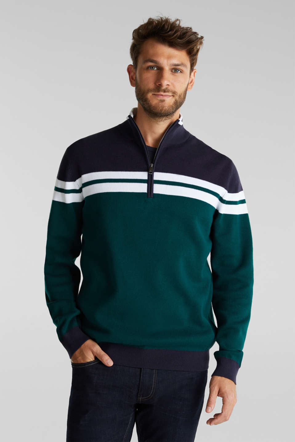 Esprit - Jumper made of 100% organic cotton