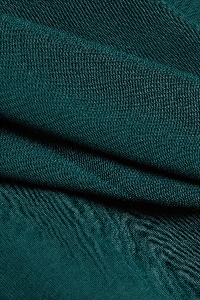 Mit Kaschmir: Rollkragenpullover, BOTTLE GREEN, detail image number 4