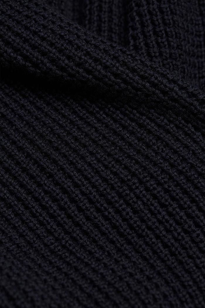 Cardigan aus 100% Organic Cotton, NAVY, detail image number 4