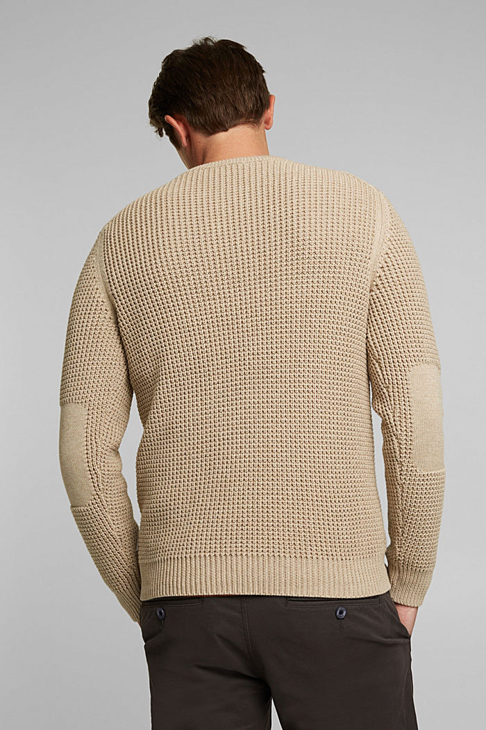 Jumper made of 100% organic cotton, LIGHT BEIGE, detail image number 3