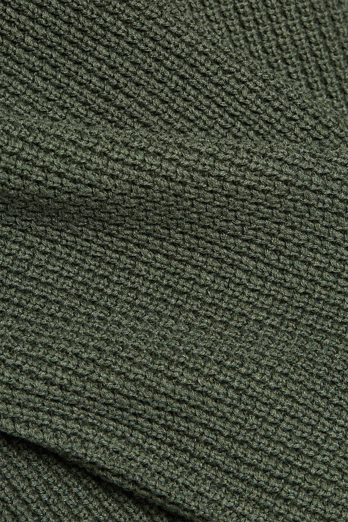Jumper made of 100% organic cotton, LIGHT KHAKI, detail image number 4