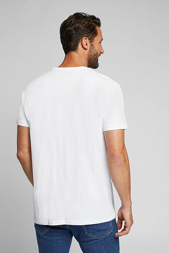 Jersey T-shirt, 100% organic cotton, WHITE, detail image number 3