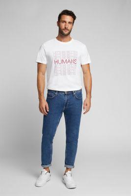 Jersey T-shirt, 100% organic cotton, WHITE, detail