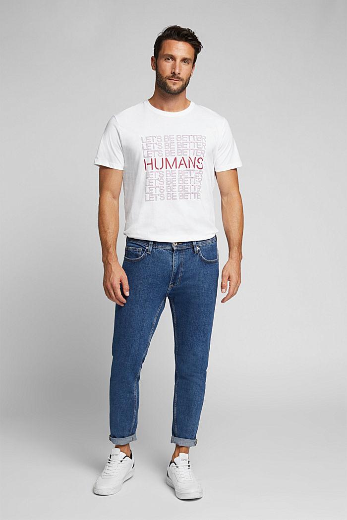 Jersey T-shirt, 100% organic cotton, WHITE, detail image number 2