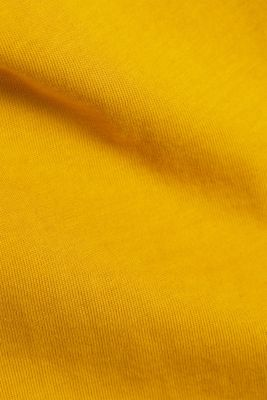 Jersey T-shirt made of 100% organic cotton, AMBER YELLOW, detail