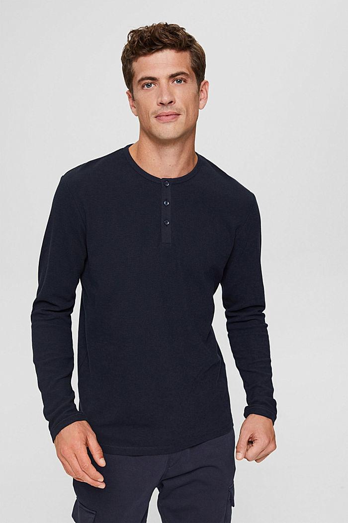 T-Shirts Slim Fit, NAVY, detail image number 0