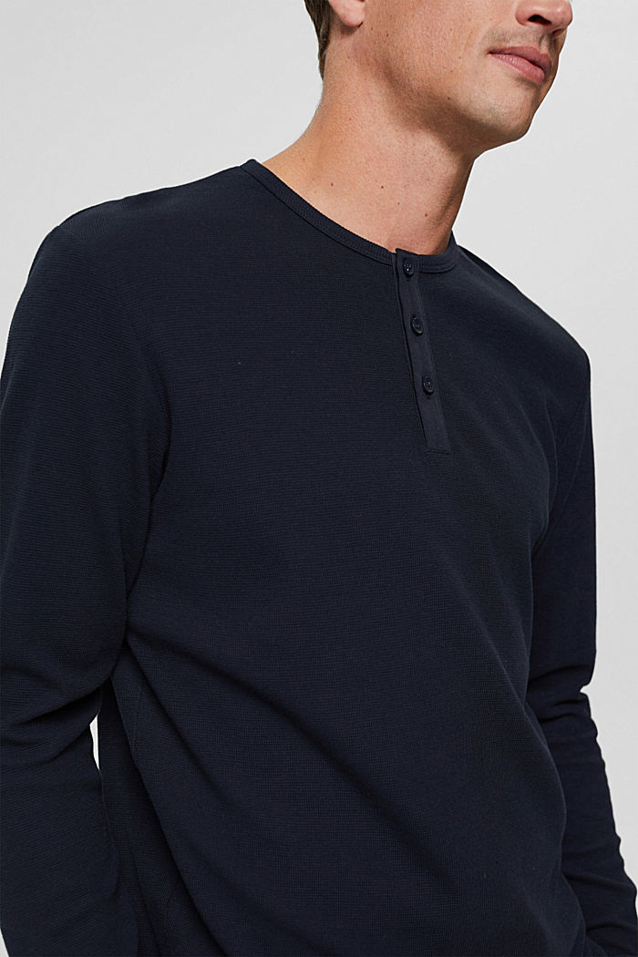 T-Shirts Slim Fit, NAVY, detail image number 1