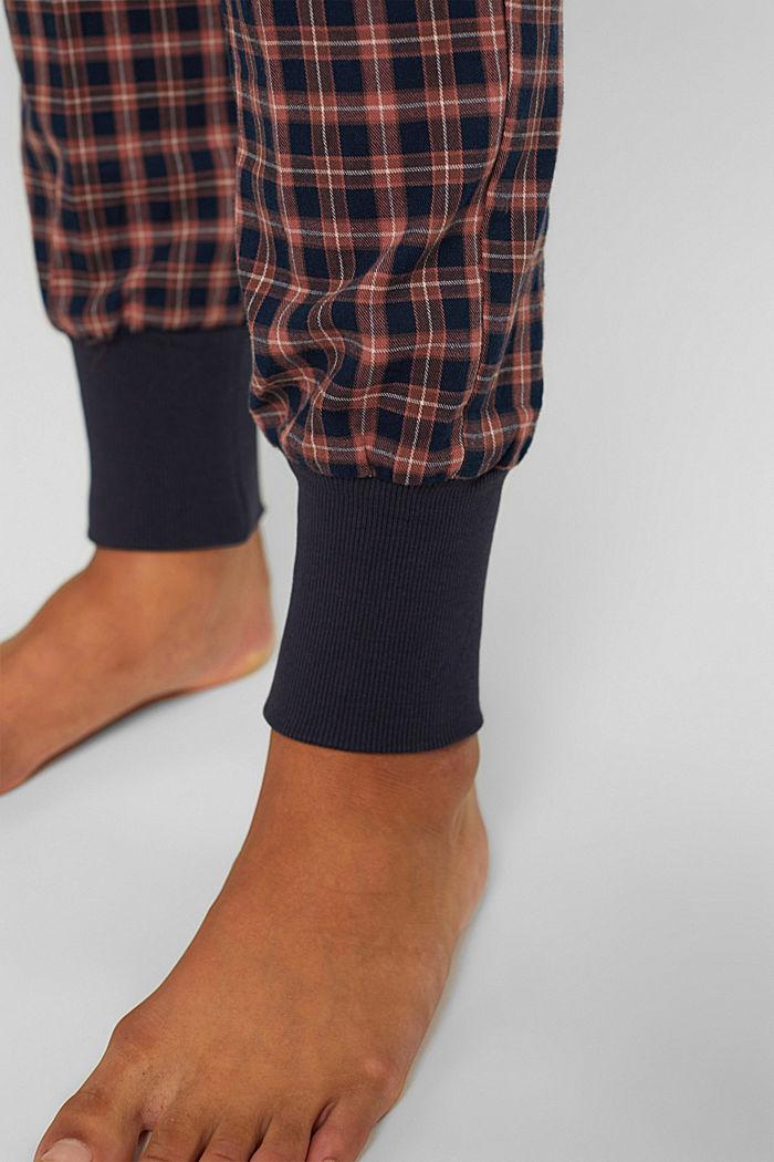 Pyjama aus 100% Organic Cotton, NAVY, detail image number 2