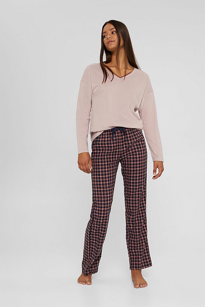 Pyjama van 100% biologisch katoen
