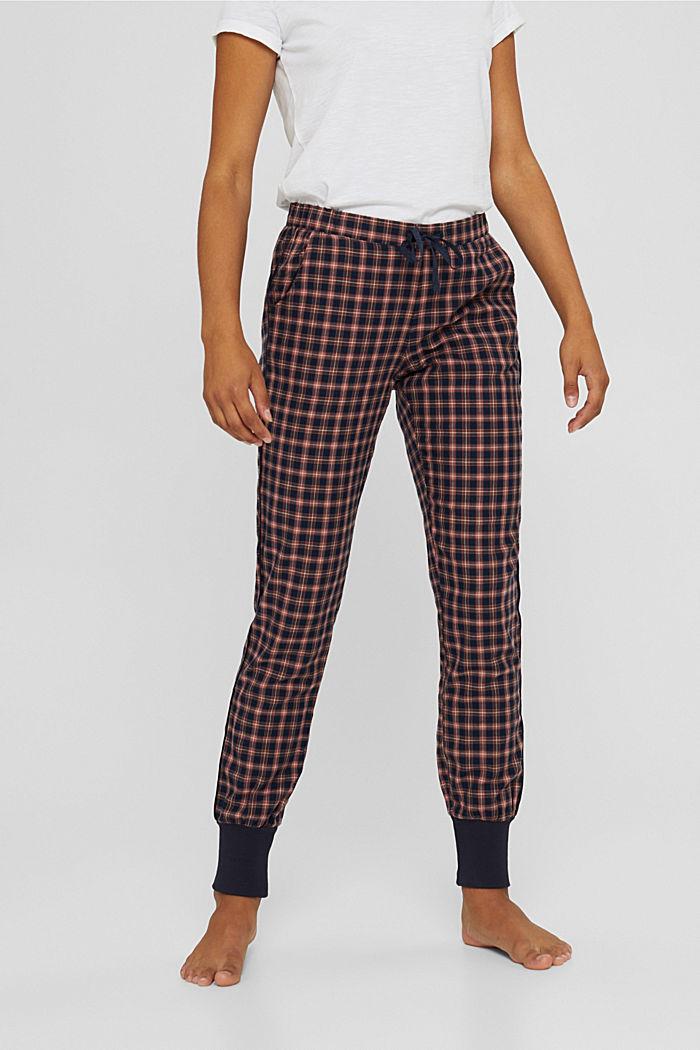 Pyjamahose mit Karomuster, Organic Cotton