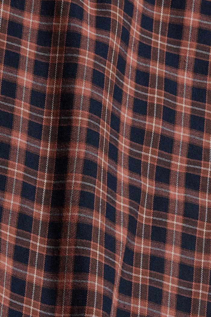 Pyjamahose mit Karomuster, Organic Cotton, NAVY, detail image number 4
