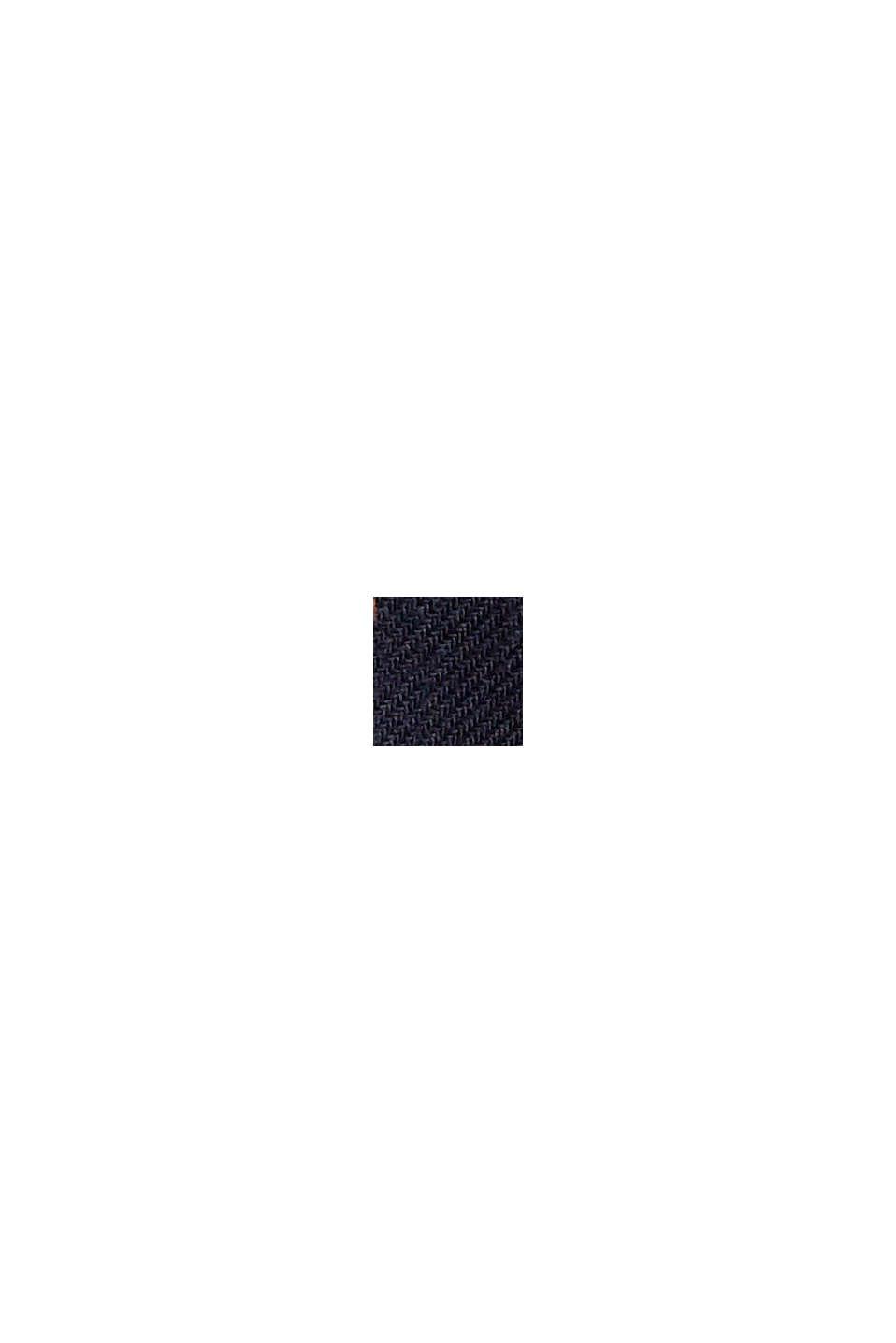 Pyjama mit Punkte-Print, 100% Bio-Baumwolle, NAVY, swatch