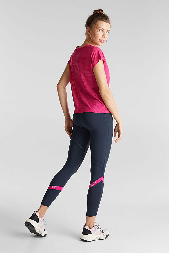 Active-Leggings mit E-Dry, NAVY, detail image number 3