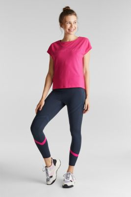 Active leggings with E-DRY, NAVY 2, detail
