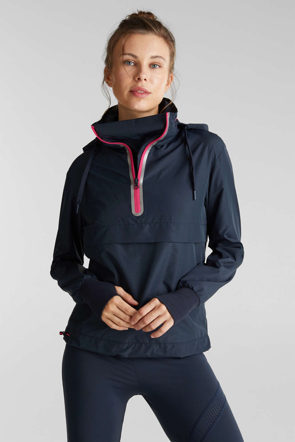Esprit Lightweight hooded outdoor jacket at our Online Shop