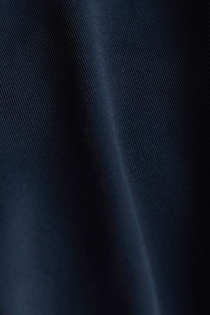 Active T-shirt with openwork pattern and edry, NAVY, detail image number 4