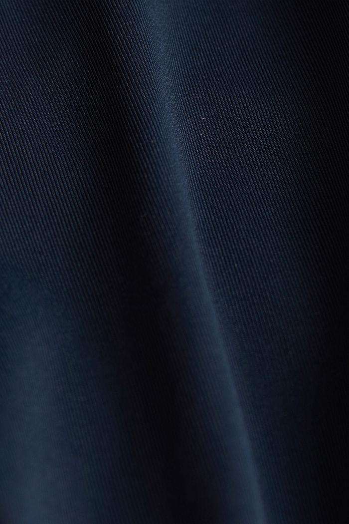 Koszulka Active z ażurowym wzorem i technologią E-DRY, NAVY, detail image number 4
