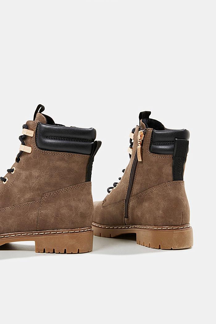Boots in Nubukleder-Optik, BROWN, detail image number 5