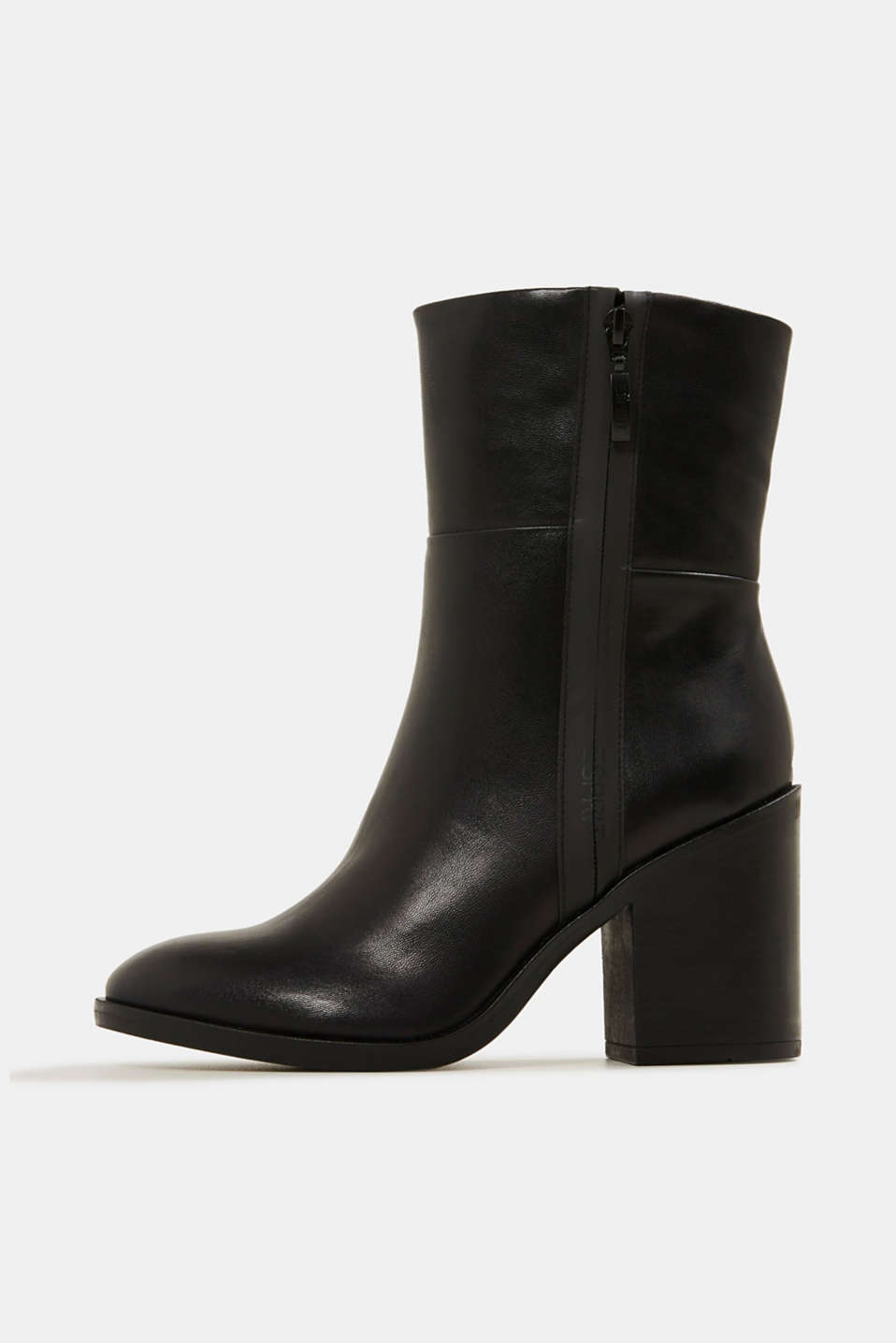 Esprit - Faux leather ankle boots