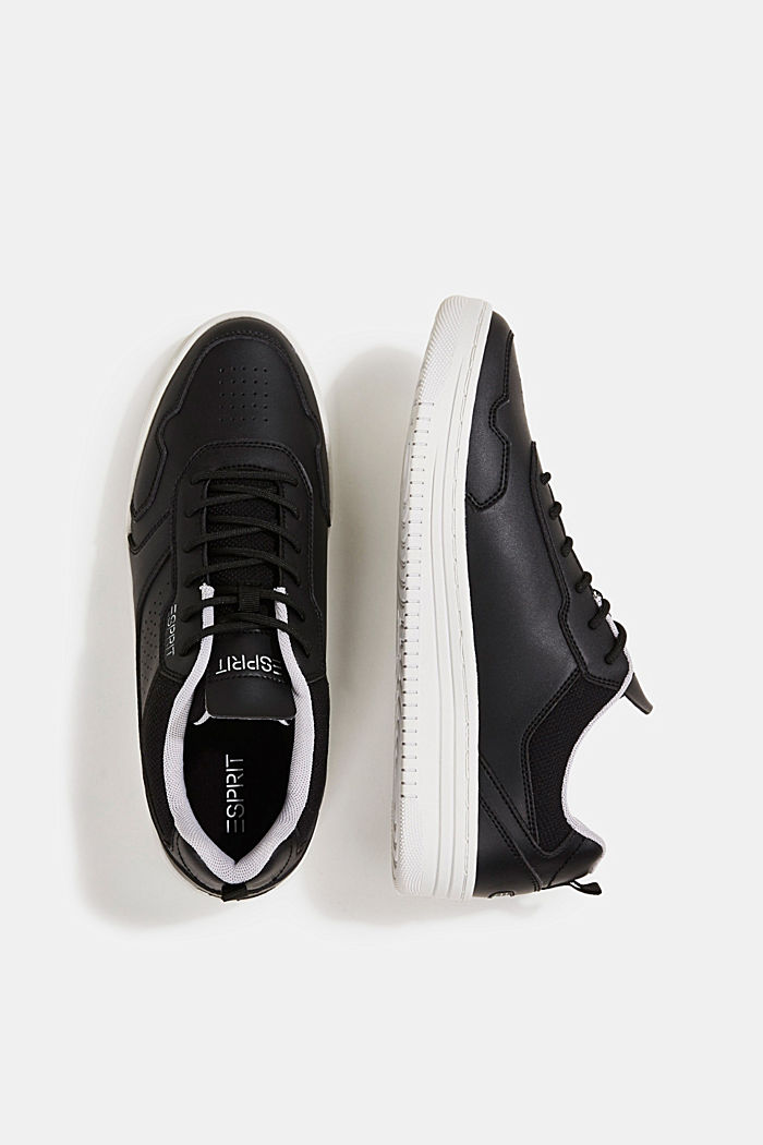 Faux leather trainers, BLACK, detail image number 1