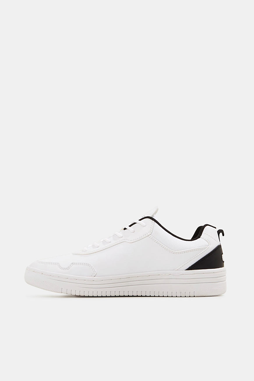 Sneaker in Leder-Optik