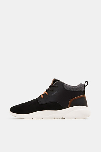 Including leather: Trainer ankle boots