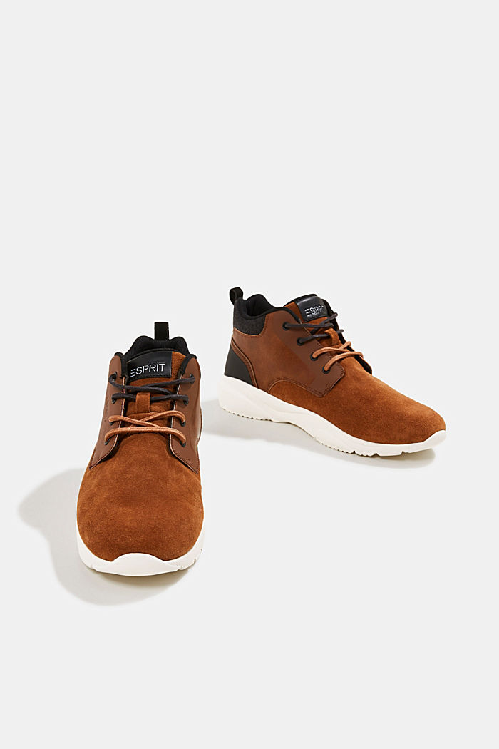 Including leather: Trainer ankle boots, TOFFEE, detail image number 6